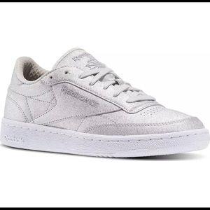 2078263369f Reebok Shoes - Women s Glitter Reebok Club C 85 Syn Sneakers